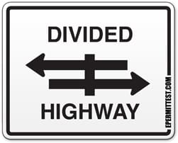 divided-highway